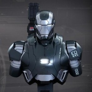 Hot Toys 1/4th Scale Avengers Age of Ultron War Machine Mark II Bust