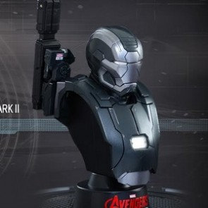 Hot Toys 1/6th Scale Avengers Age of Ultron War Machine Mark II Bust