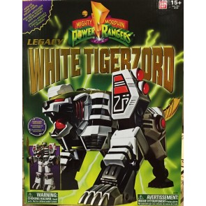 Bandai Power Rangers Legacy White Tigerzord