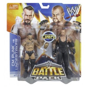 WWE Battle Packs 25 CM Punk VS Undertaker