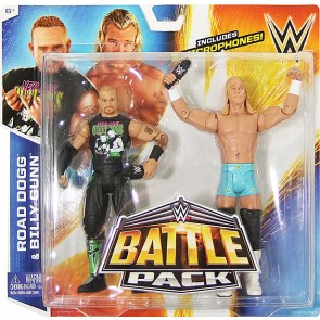 WWE Battle Packs 32 New Age Outlaws Billy Gunn & Road Dogg
