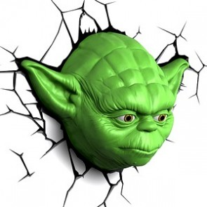 3D LightFX Star Wars Yoda Deco Light