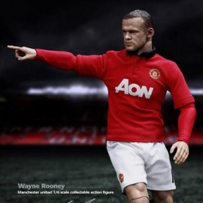 ZCWO 1/6th Scale Manchester United Wayne Rooney Collectible Figure