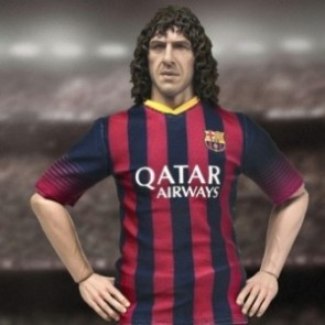 ZCWO 1/6th Scale Barcelona Carles Puyol Collectible Figure