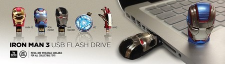 Iron Man 3 USB Pendrives