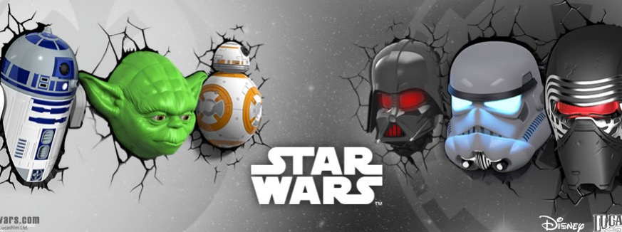 Order Star Wars 3D Light FX Deco Lights