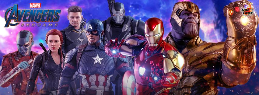 Hot Toys 1/6 Scale Avengers Endgame Collectible Figures